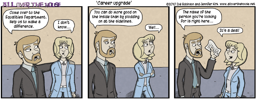 Career upgrade