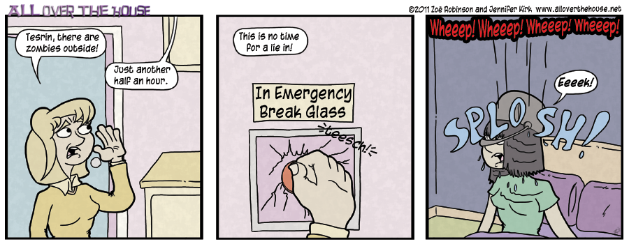 In emergency, break glass