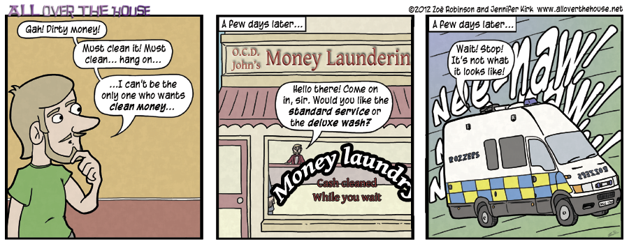 John's Money Laundering Service