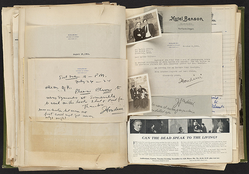 'Harry Houdini Scrapbook' by Boston Public Library, via Flickr