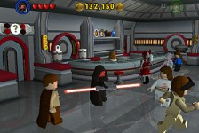 Screenshot from LEGO Star Wars