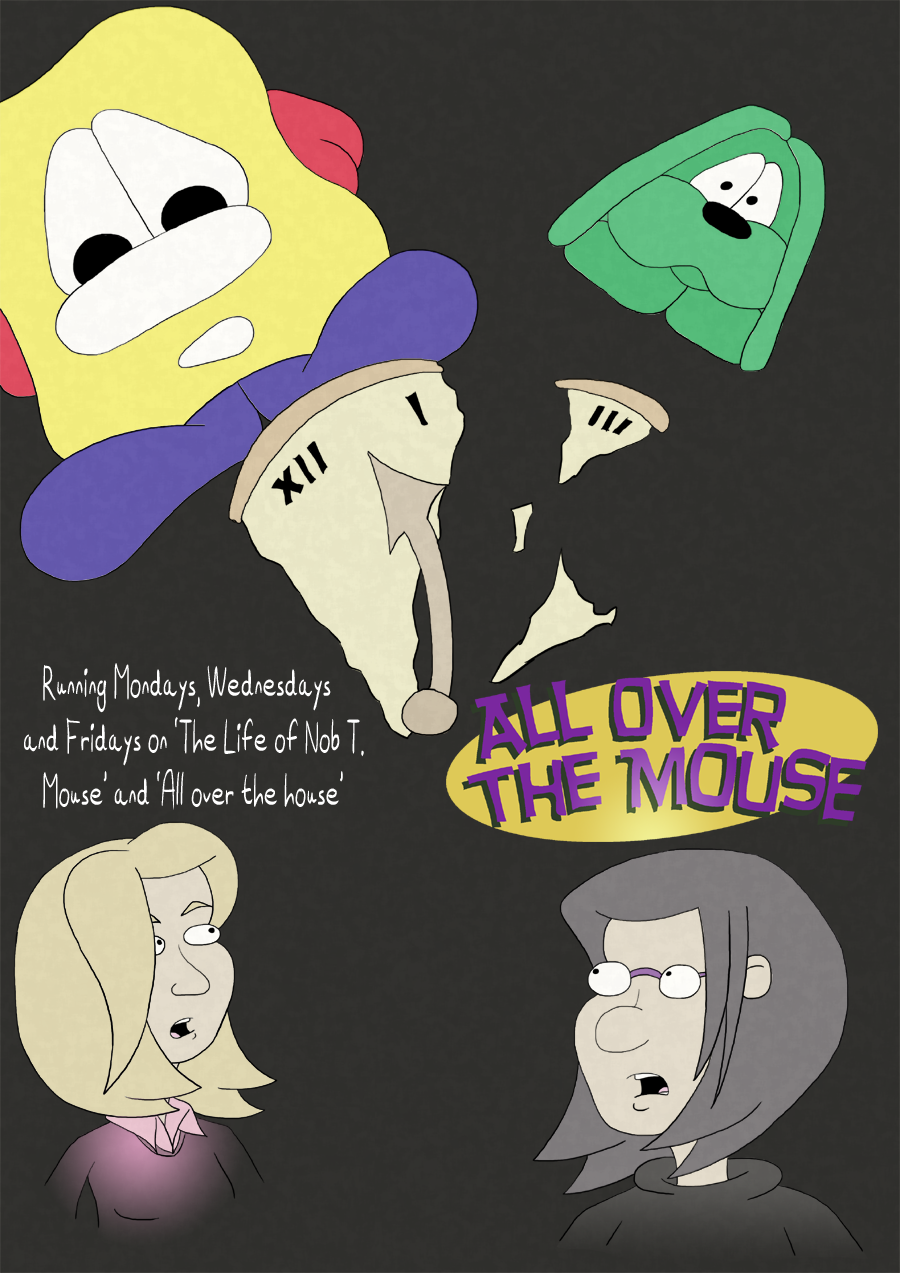 All over the mouse – Cover
