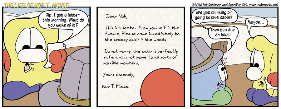 A perfectly innocent letter