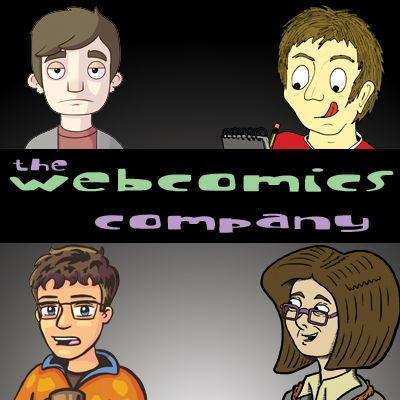 Group picture of the Webcomics Company team