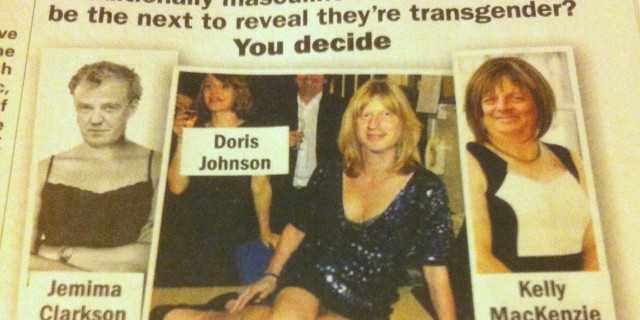 "Private Eye's 'Guess Who's Trans' ""joke"""