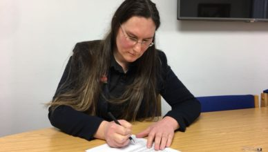 Cllr Zoë Kirk-Robinson writing to the Greater Manchester Mayor, Andy Burnham, asking him to increase the number of police in Westhoughton.