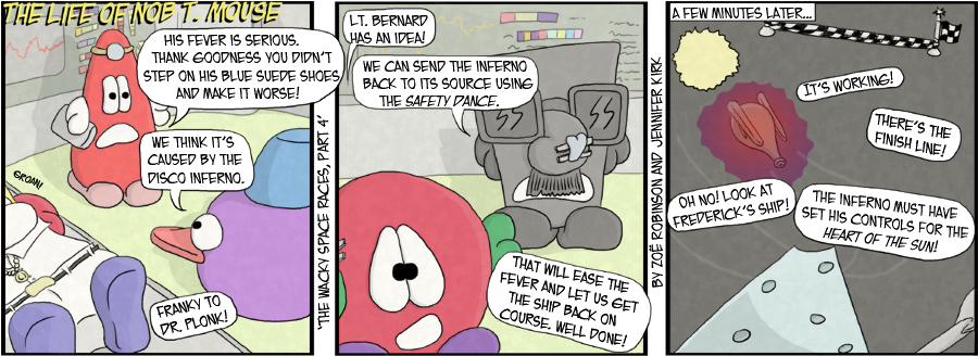 The Wacky Space Races, part four