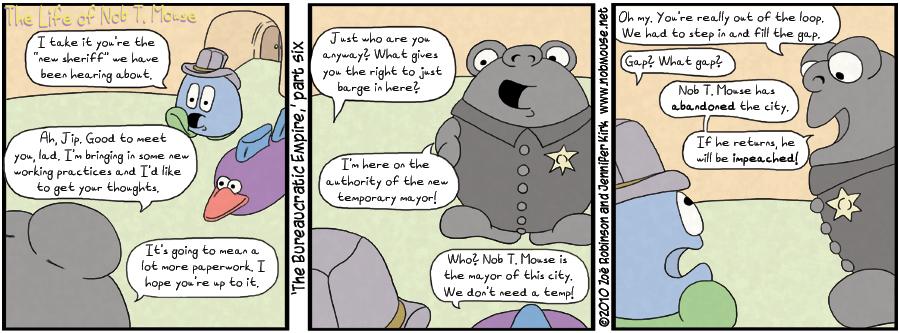 The bureaucratic empire, part 6