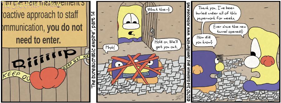 The bureaucratic empire, part 14