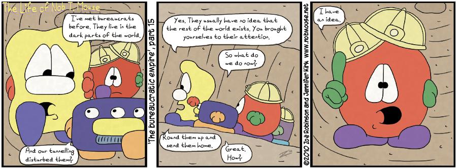 The bureaucratic empire, part 15